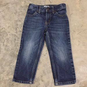 Oshkosh toddler straight jeans size 2t
